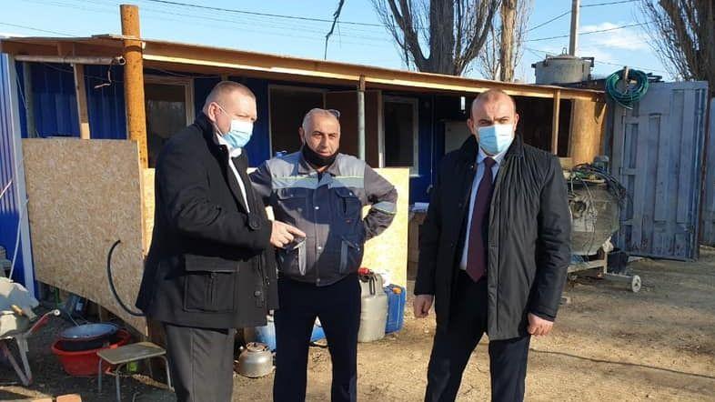 В селе Заречное завершается строительство водовода