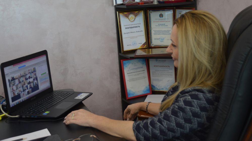 Светлана Лужецкая приняла участие в заседании Совета по улучшению инвестиционного климата