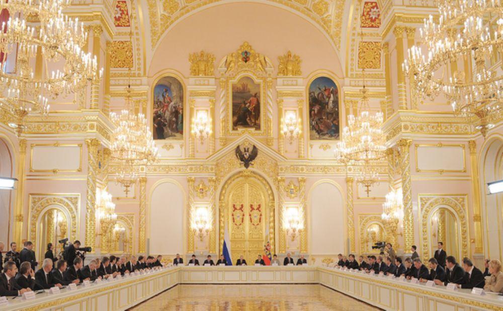 Аксёнов и Развожаев вошли в новый состав Госсовета Российской Федерации