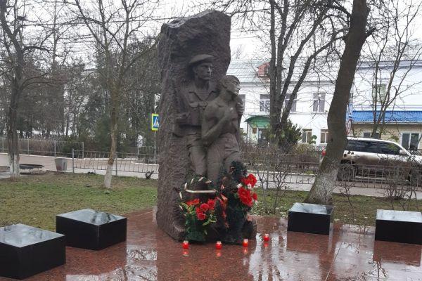 Алла Пономаренко приняла участие в памятном мероприятии по случаю годовщины ввода советских войск в Афганистан