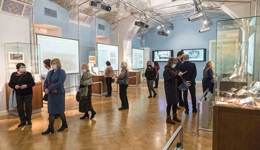 В Петербурге открылась выставка экспонатов из Дома-музея Волошина