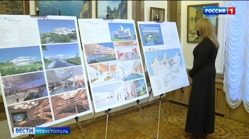 На мысе Хрустальном в Севастополе археологические находки совместят с современной архитектурой