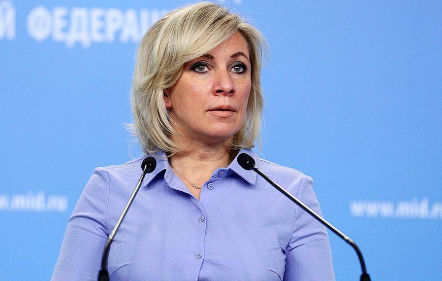 """Захарова прокомментировала обещание главы МИД Украины сделать тему Крыма """"адской"""" для РФ"""