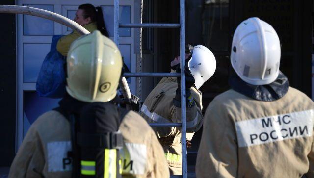 На пожаре в многоквартирном доме в Симферополе погиб человек