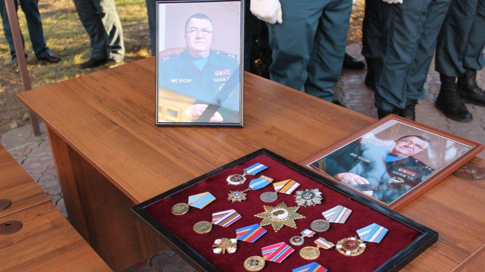 В Крыму простились с Министром чрезвычайных ситуаций Республики Крым Сергеем Николаевичем Шаховым