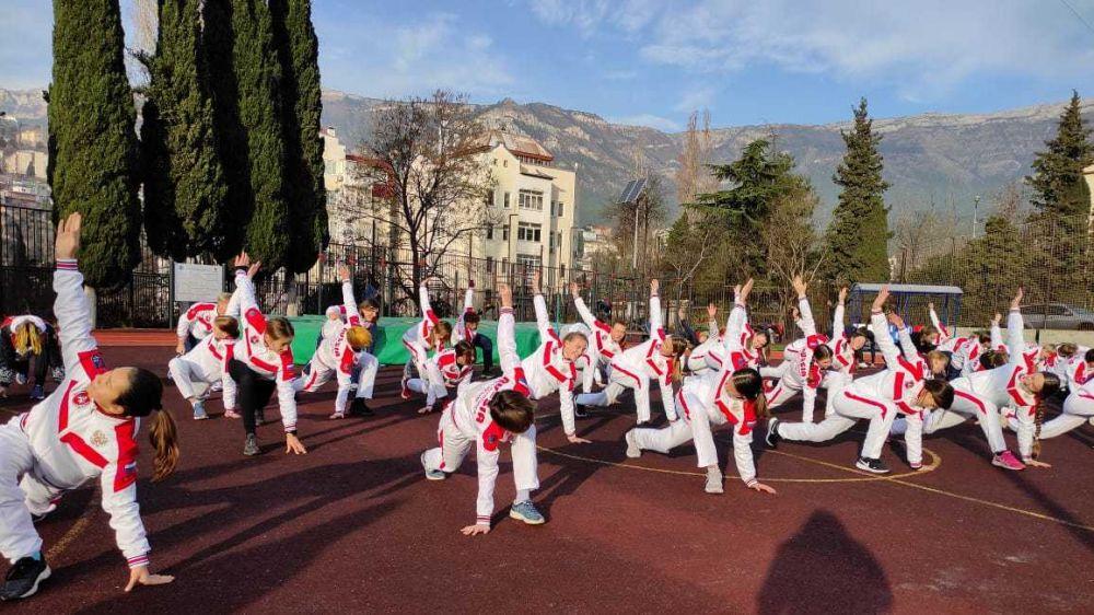 Более 3000 крымчан приняли участие во всероссийской акции «Декада спорта и здоровья»