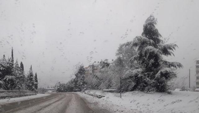 Дождь и снег накроют Крым в ближайшие сутки
