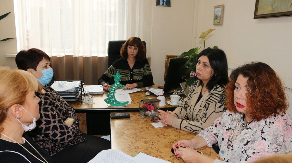 Состоялось заседание комиссии Министерства культуры Республики Крым по установлению выплат стимулирующего характера руководителям подведомственных учреждений
