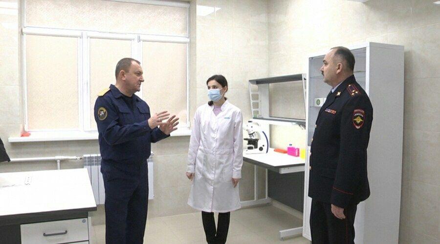 Новая ДНК-лаборатория при МВД начала работу в Севастополе