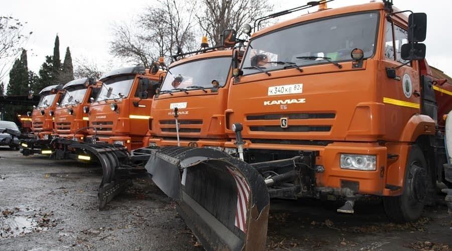 Власти Ялты заявили о готовности городских служб к ухудшению погодных условий