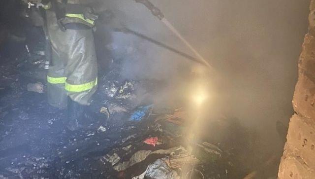 Человек погиб на пожаре в жилом доме в Симферополе