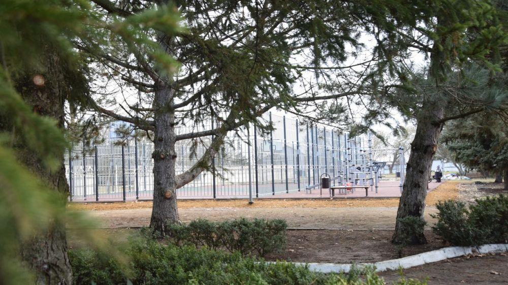 Новый спортивный объект в с.Марьяновка расположился на территории стадиона