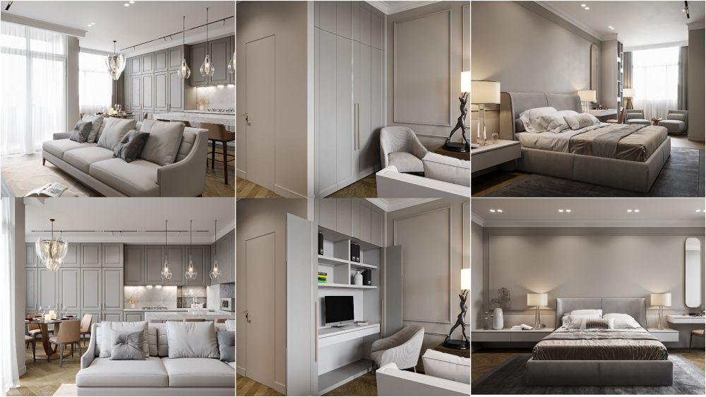 Крымский дизайнер интерьера Валерия Франжуло опубликовала свою очередную работу — апартаменты в Симферополе