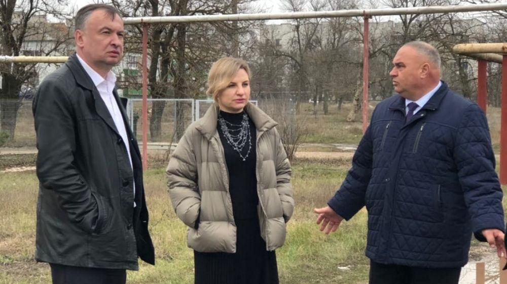 Министр спорта Республики Крым Ольга Торубарова посетила Красногвардейский район с рабочей встречей по капитальному ремонту дорог