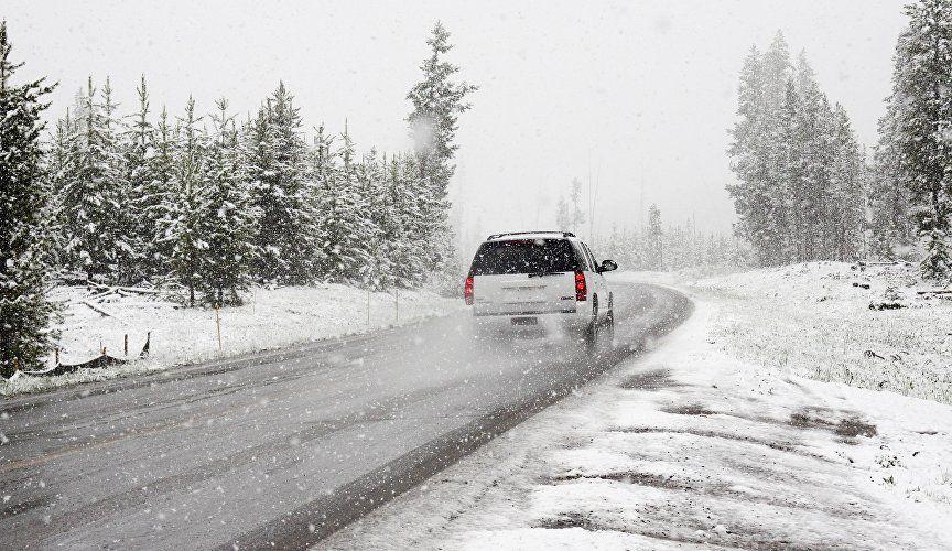 Вниманию автотуристов: часть трассы Симферополь – Ялта перекроют из-за снега