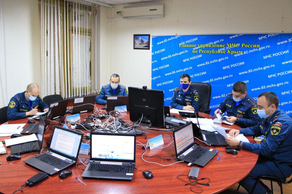 Ситуация с неблагоприятными погодными условиями на контроле МЧС России