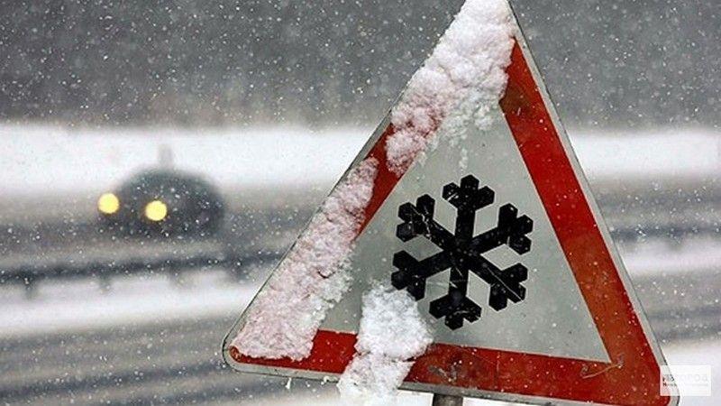Минтранс РК: Вследствие снежных заносов на трассе Симферополь-Алушта-Ялта наблюдается заторовая ситуация