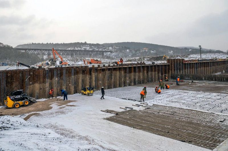 Строительство водозабора на реке Бельбек идет с опережением графика