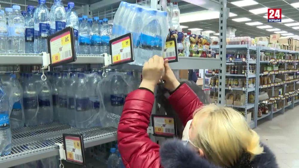 Цену на питьевую воду решено «заморозить»