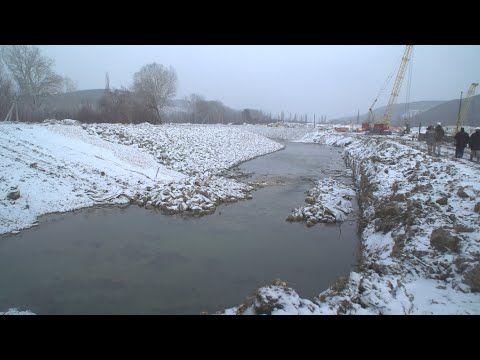 Строительство водозабора на Бельбеке идет с опережением графика (СЮЖЕТ)