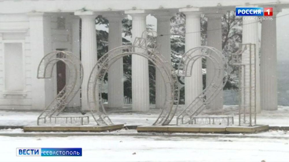 Как Севастополь справляется с прошедшим снегопадом