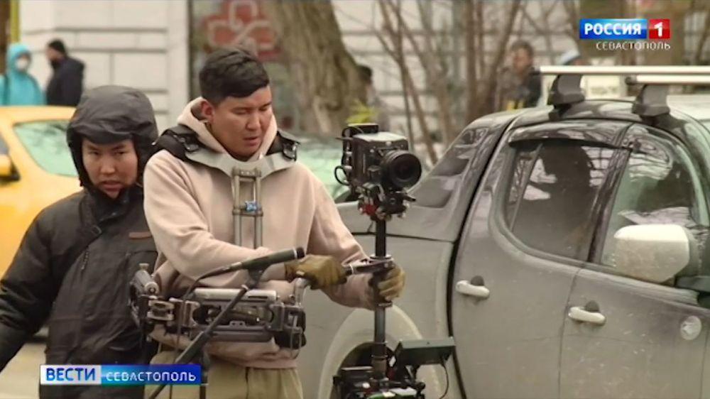Улицы Севастополя превратились в съёмочную площадку музыкального фильма