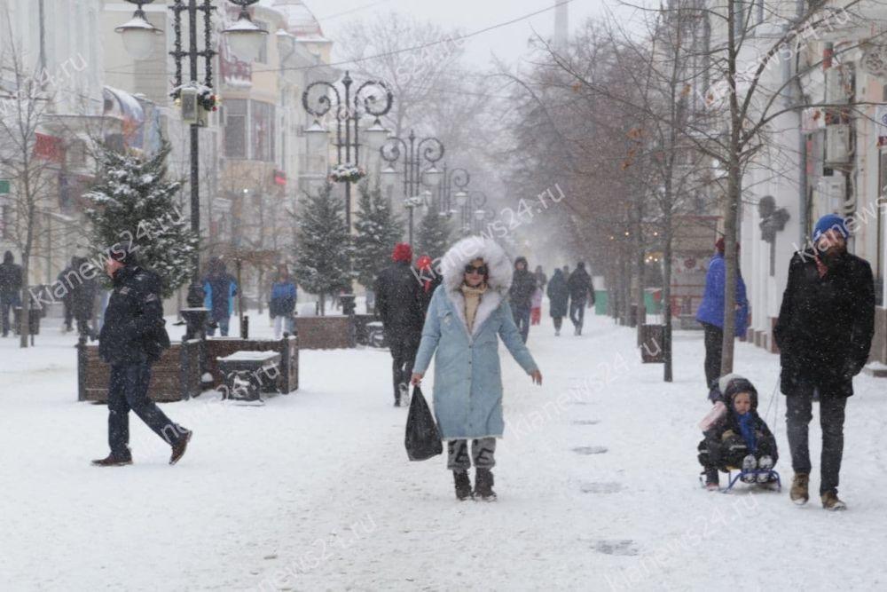 МЧС предупредило крымчан о 15-градусных морозах