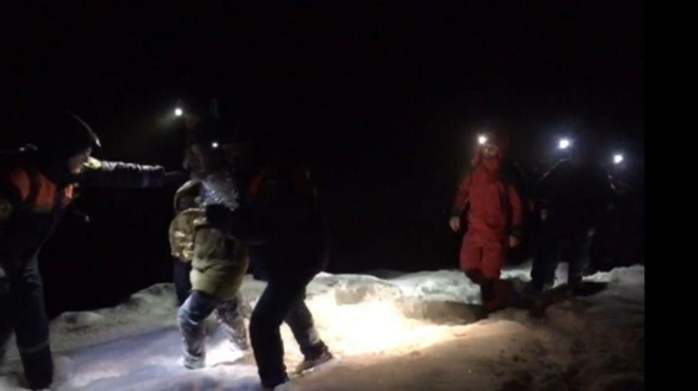 Крымские спасатели эвакуировали женщину в районе перевала Маски
