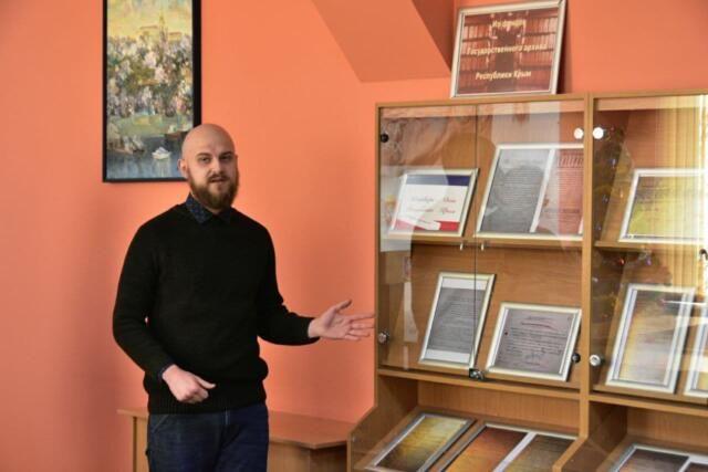 Выставка исторических документов открылась в Госархиве ко Дню Республики Крым