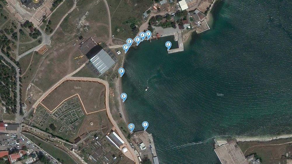 В Севастополе в список объектов культурного наследия включили подводный город