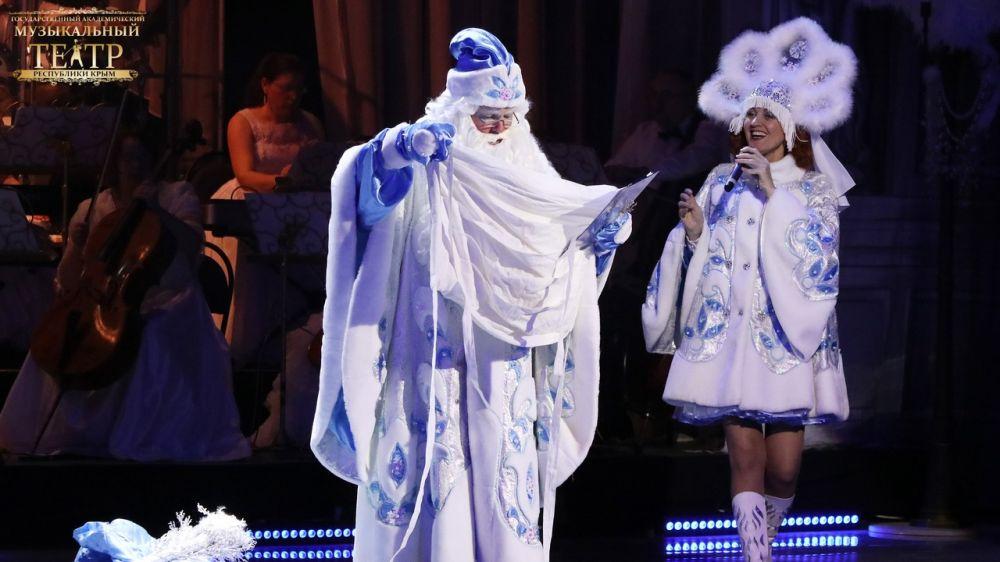 Государственный академический музыкальный театр Крыма в период праздничной кампании осуществил 67 показов разножанровых постановок