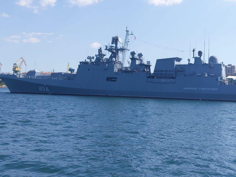 В Средиземном море два корабля ЧФ сдали первую курсовую задачу