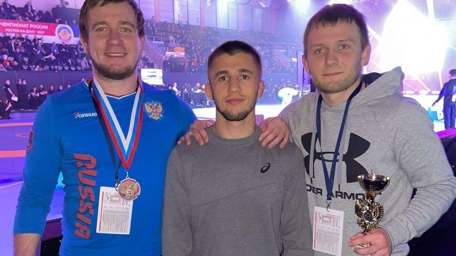 Симферополец Эмин Сефершаев – бронзовый призер чемпионата России по греко-римской борьбе!