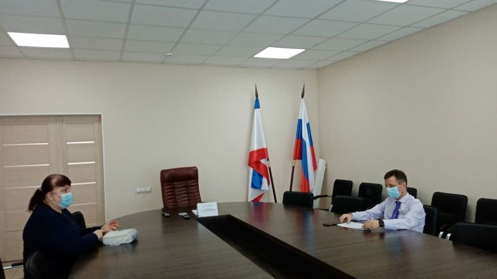 Александр Остапенко провел личный прием граждан