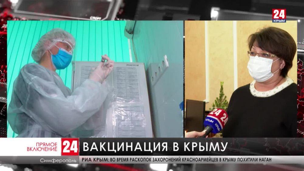 В Крыму стартовала массовая вакцинация от COVID-19. Сколько доз получит Республика?