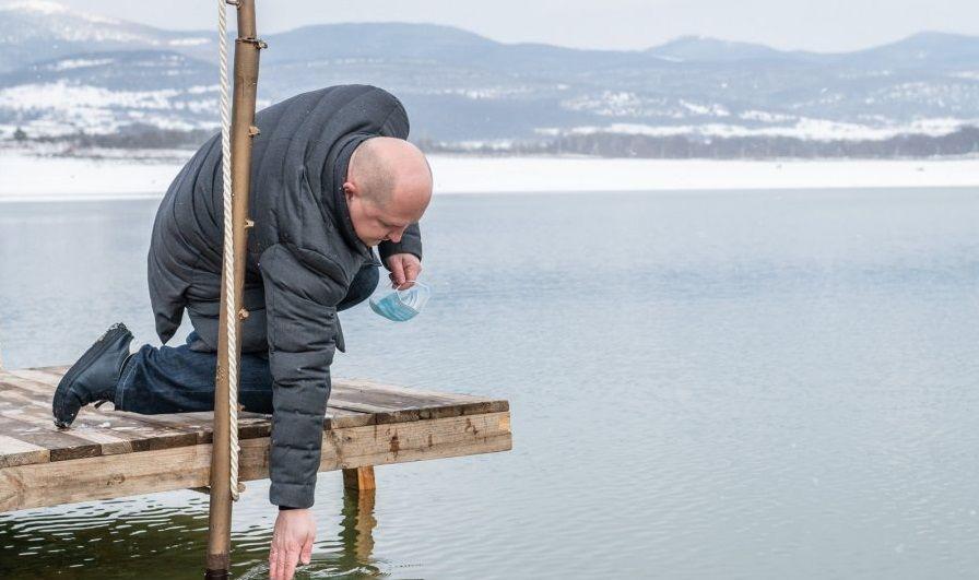 На Чернореченском водохранилище начала прибывать вода