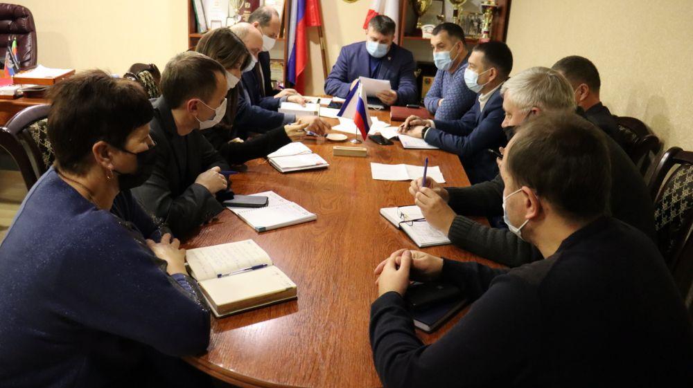 Состоялось совещание с руководителями энергопоставляющих, ресурсоснабжающих предприятий района
