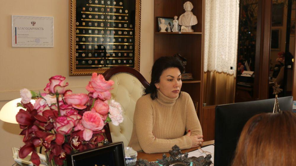 Арина Новосельская приняла участие в совещании о ходе реализации инфраструктурных проектов в Республике Крым по итогам 2020 года