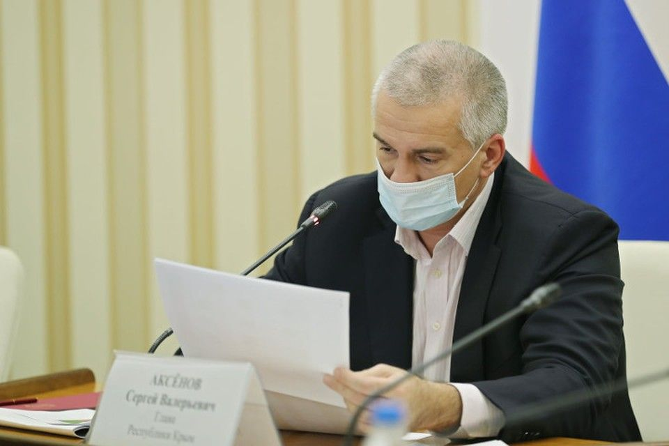 Аксенов предложил объявить выговор главам администраций Симферополя, Керчи и Евпатории