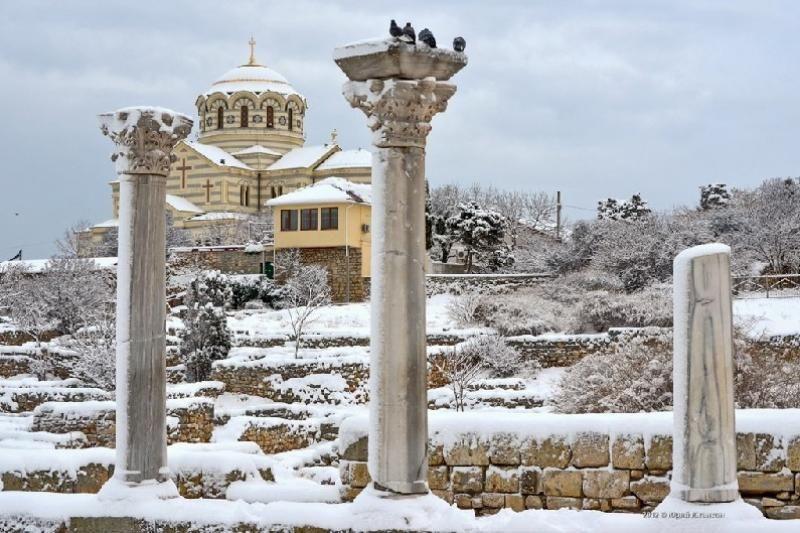 Прогноз погоды на 19 января: в Крыму и Севастополе разгулялась зима