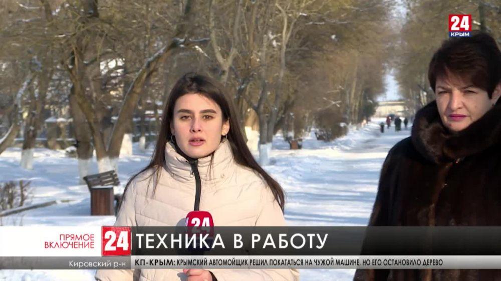 Кировский район получил новую коммунальную технику