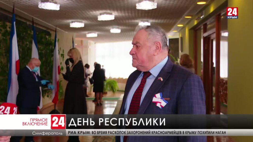 В Крыму отмечают День Республики и 30-летие первого референдума