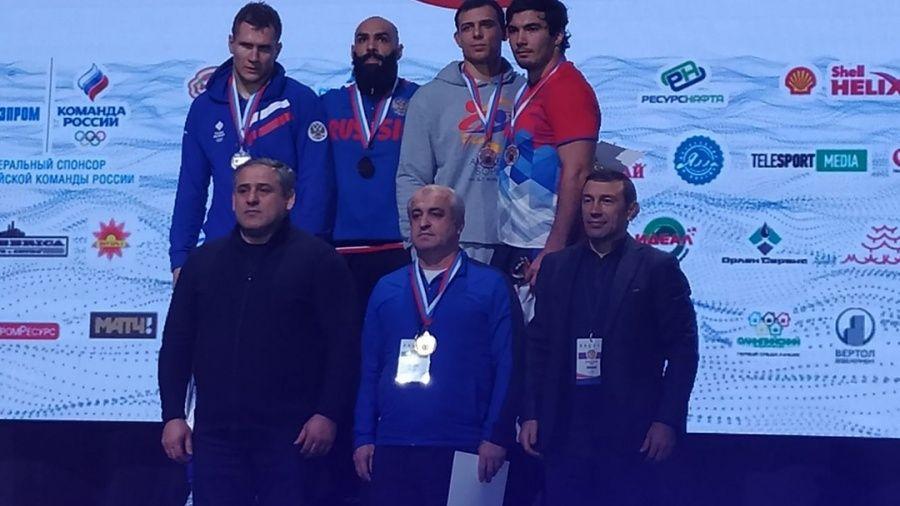 Крымчане Азамат Сеитов и Адам Курак – бронзовые призеры чемпионата России по греко-римской борьбе!