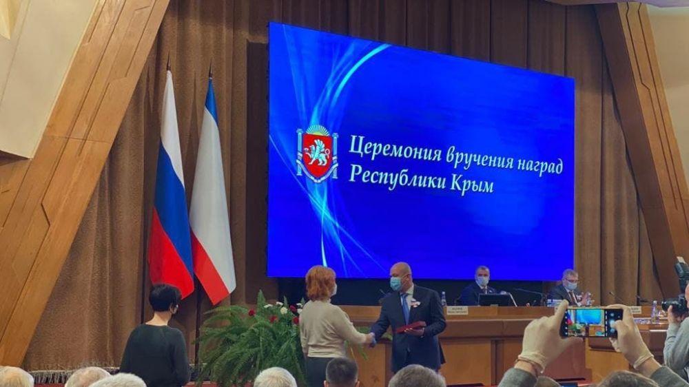 Крымчане, внесшие весомый вклад в развитие культуры и искусств республики, удостоены наград