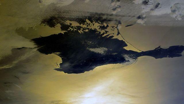 Космонавт показал Крым с борта МКС в честь Дня республики
