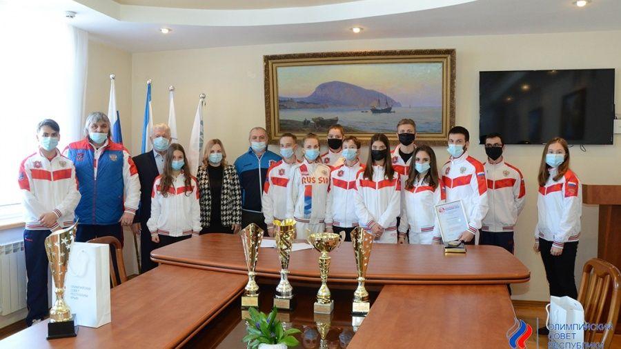 Олимпийский совет Крыма отметил лучших крымских спортсменов по итогам 2020 года
