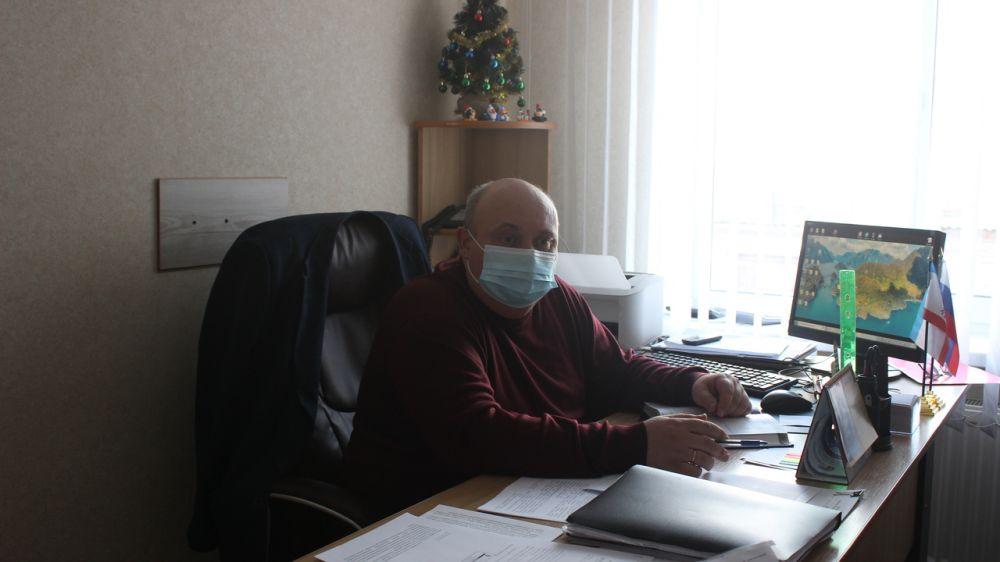 Заместитель главы администрации Сакского района Юрий Ильин провел заседание комиссии по оказанию адресной материальной помощи