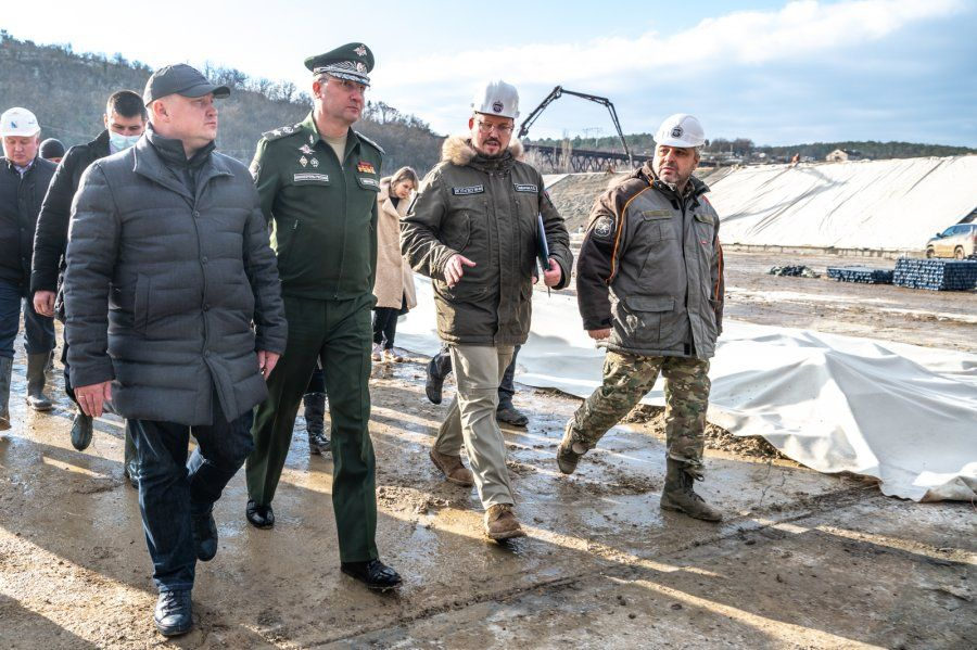 Водозабор на реке Бельбек готов на 80%