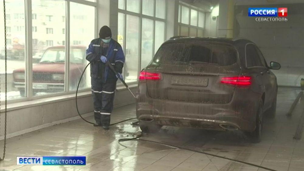 Сколько воды тратят автомоечные комплексы в Севастополе