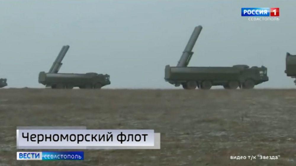 В Крыму пройдут учения противокорабельных комплексов «Бал» и «Бастион»